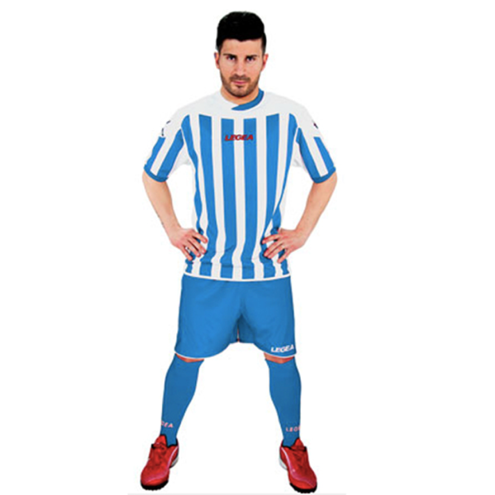 Fotbalový dres komplet LEGEA Salonicco modrý