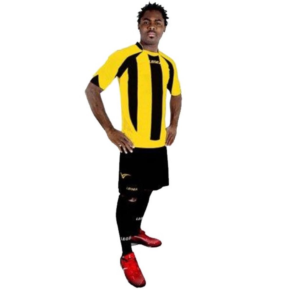 Fotbalový dres komplet LEGEA Madrid žlutý
