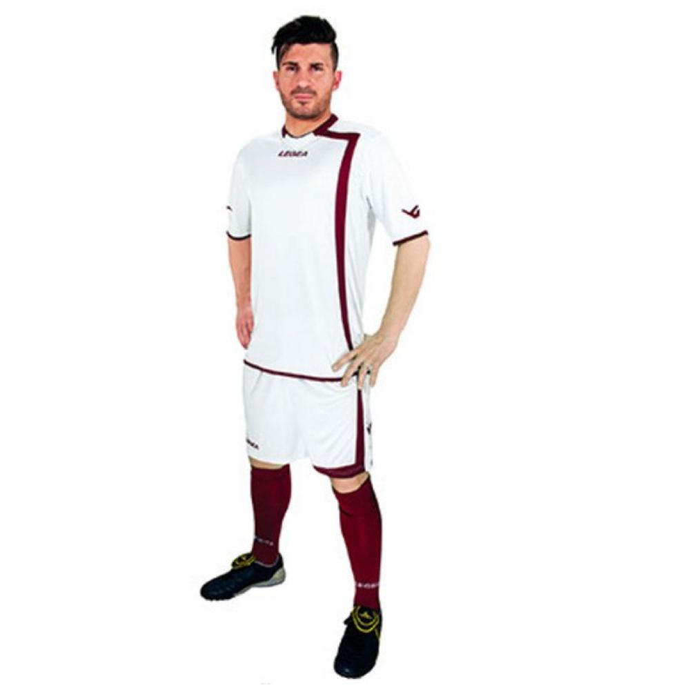 Fotbalový dres komplet LEGEA Grenoble bílý