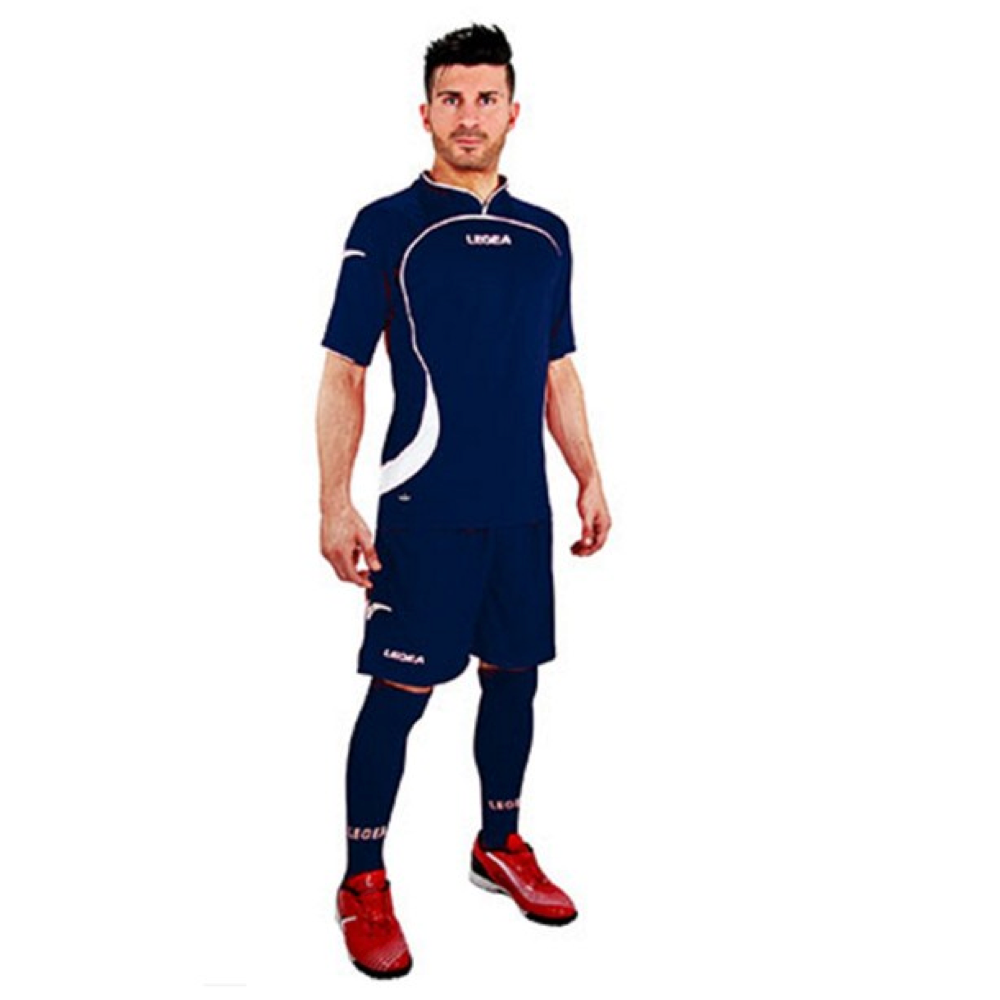 Fotbalový dres komplet LEGEA Goteborg modrý