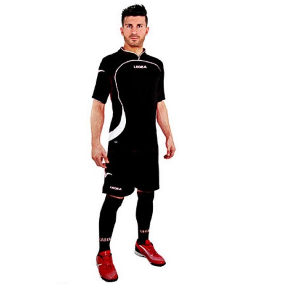 Fotbalový dres komplet LEGEA Goteborg černý