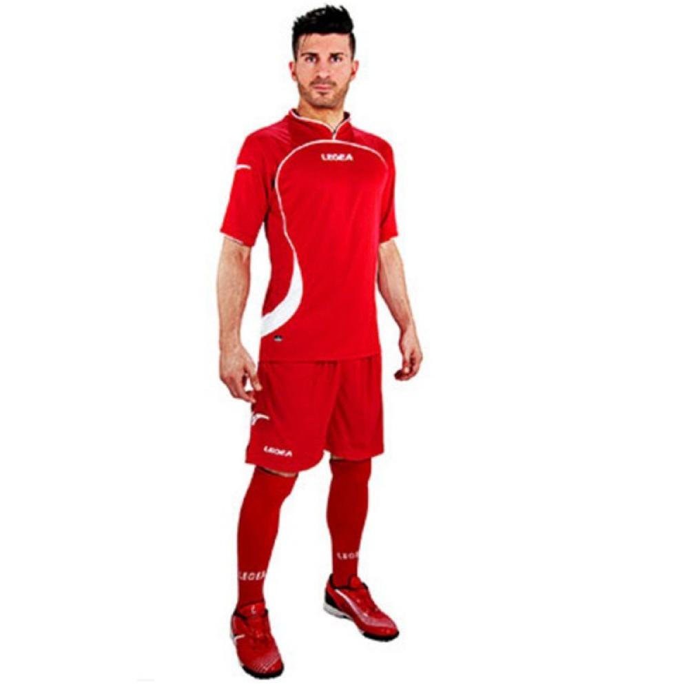 Fotbalový dres komplet LEGEA Goteborg červený