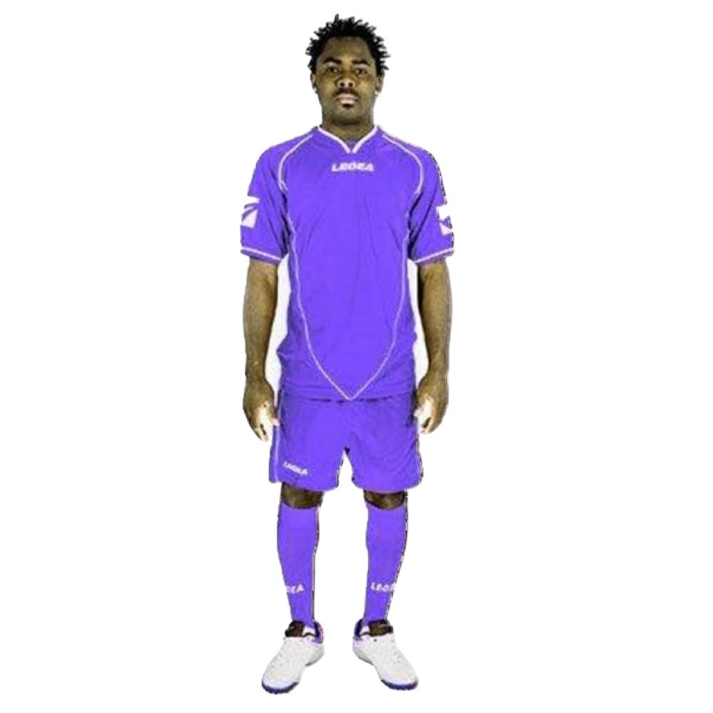 Fotbalový dres komplet LEGEA Scudo fialový