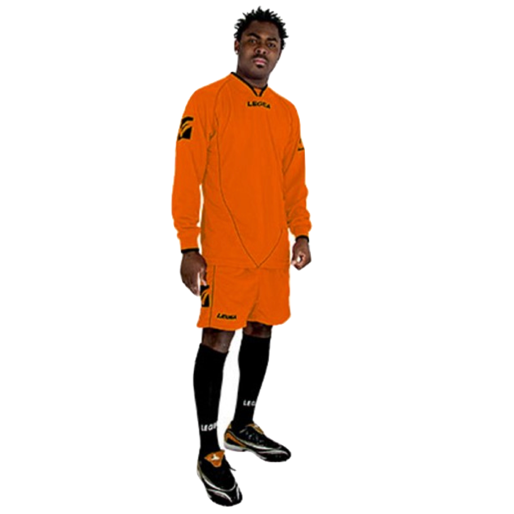 Fotbalový dres komplet LEGEA Londra oranžový