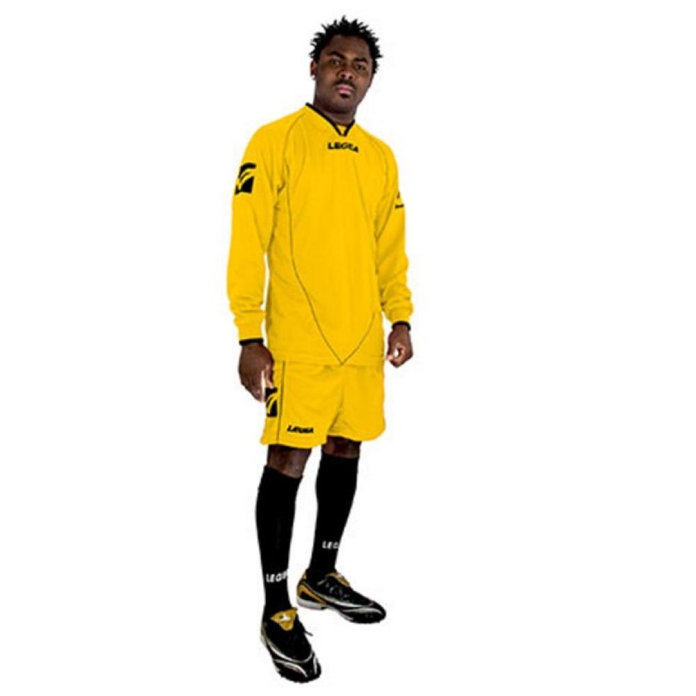 Fotbalový dres komplet LEGEA Londra žlutý