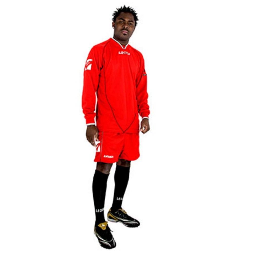 Fotbalový dres komplet LEGEA Londra červený I